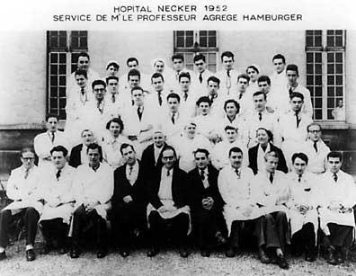 histoire de la greffe : équipe de Jean Hamburger à Necker