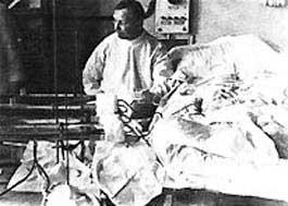 histoire de l'hémodialyse  : Dr Georges Haas 1923